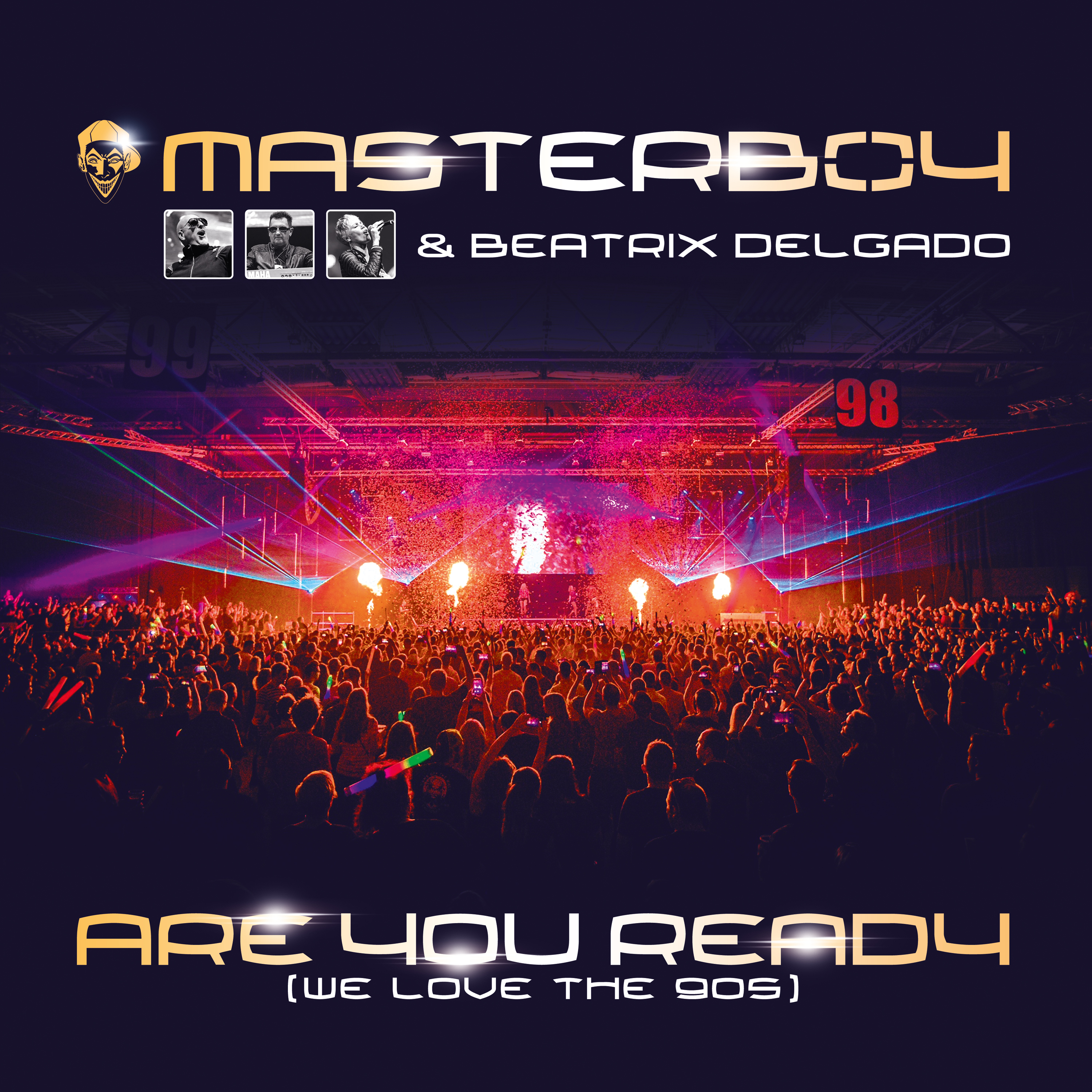 Masterboy & Beatrix Delgado - Are you Ready (We love the 90s) Vinyl